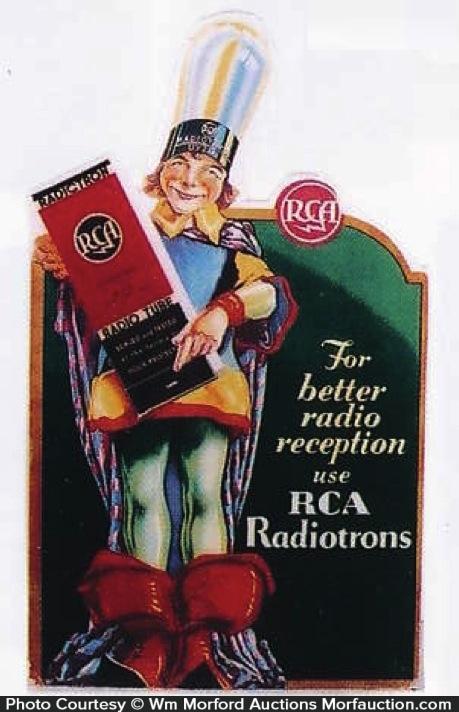 Rca Radiotron Sign