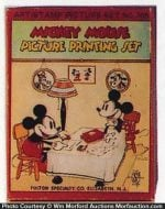 Mickey Mouse Printing Set