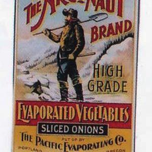 Argonaut Vegetables Label