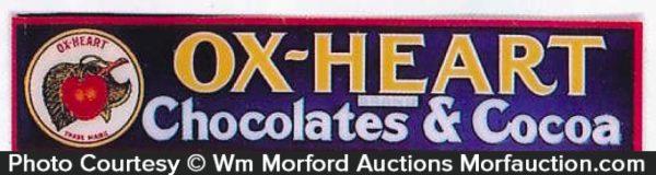 Ox-Heart Chocolate Sign