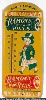 Ramon's Kidney Pills Thermometer