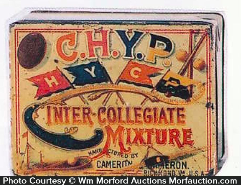 Chyp Inter-Collegiate Tobacco Tin