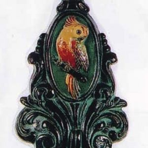 Parrot and Medallion Doorstop