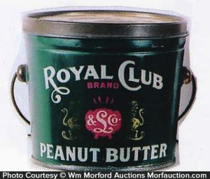 Royal Club Peanut Butter Pail