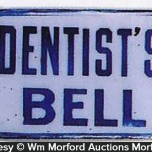 Dentist's Bell Sign