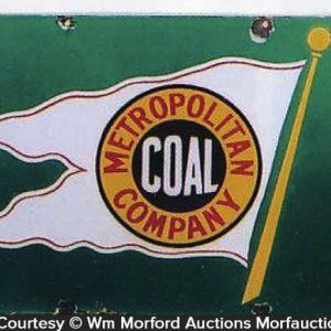 Metropolitan Coal Sign
