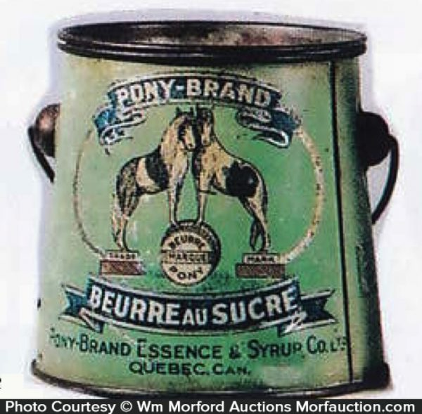 Pony Brand Sugar Butter Tin