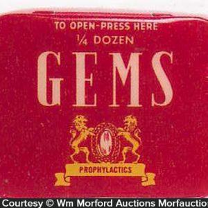 Gems Condom Tin