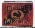 Hot Spur Tobacco Tin