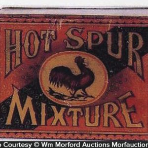 Hot Spur Tobacco Tin