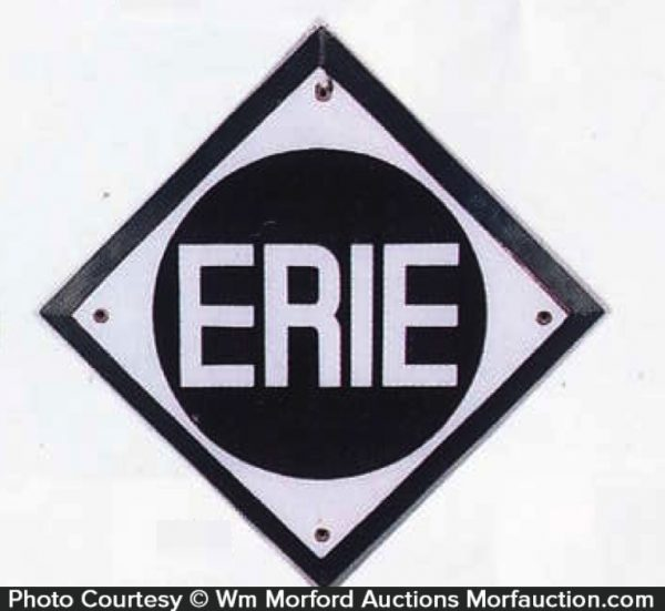 Erie Railroad Sign