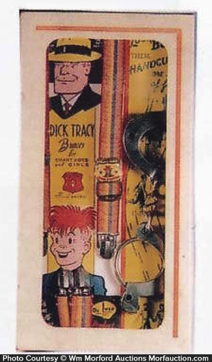 Dick Tracy Suspenders Box