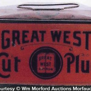 Great West Tobacco Pail
