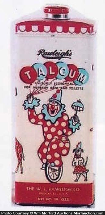 Rawleigh's Talcum Tin