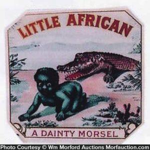 Little African Cigar Box Label