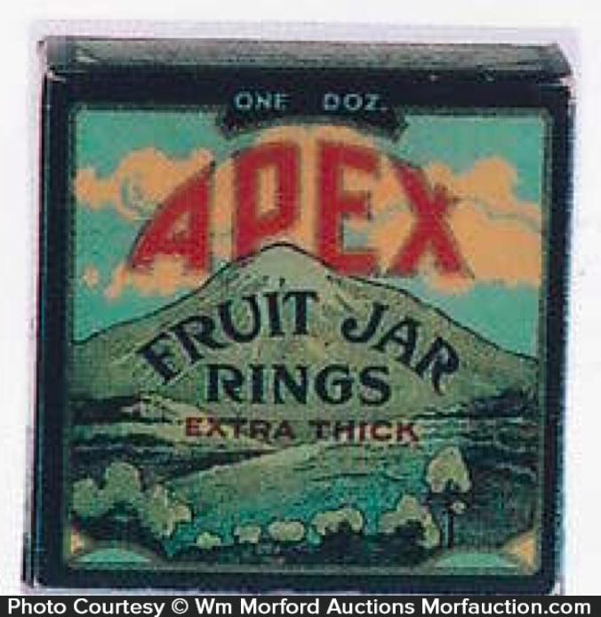 Apex Fruit Jar Rings Box