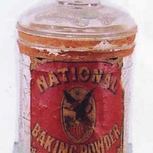 National Baking Powder Jar