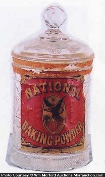 National Baking Powder Jar