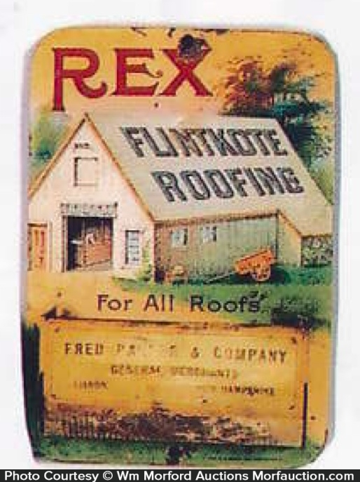 Rex Roofing Match Holder