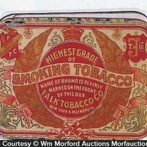 Falk Tobacco Tin