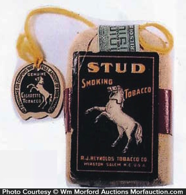 Stud Tobacco Pouch