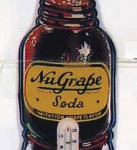 Nugrape Soda Thermometer