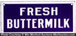 Fresh Buttermilk Sign
