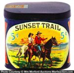 Sunset Trail Cigar Tin