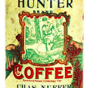 Hunter Coffee Can