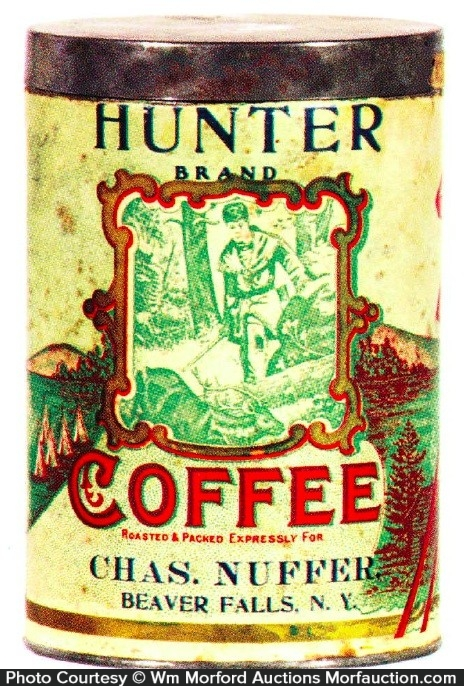 Hunter Coffee Can