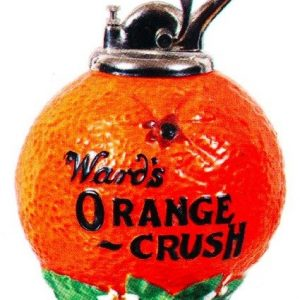 Orange Crush Syrup Dispenser