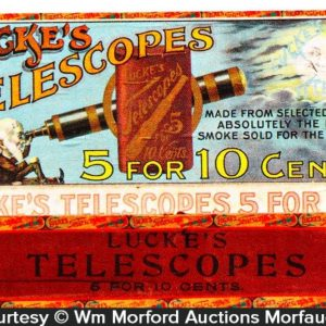 Lucke's Telescopes Cigar Box