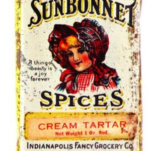 Sunbonnet Spice Tin