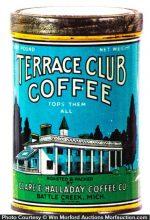 Terrace Club Coffee Can