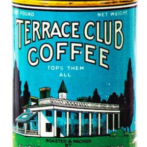 Terrace Club Coffee Can