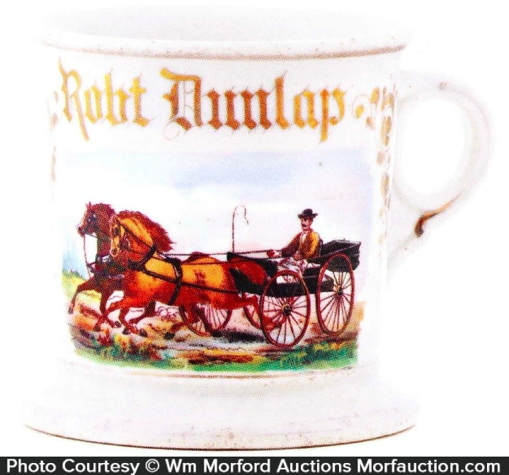 Horse & Buggy Shaving Mug