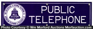 Chesapeake & Potomac Telephone Sign