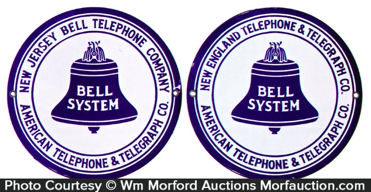 Bell System Telephone Signs