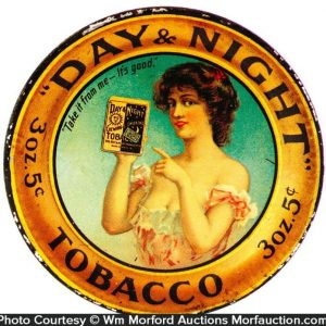 Day & Night Tobacco Tip Tray