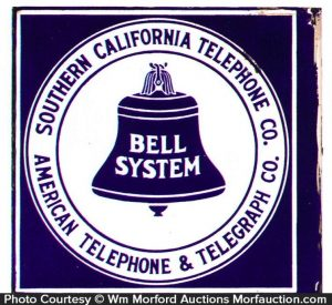 Southern California Bell System Sign