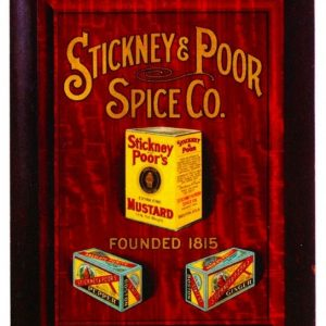 Stickney & Poor Spice Sign