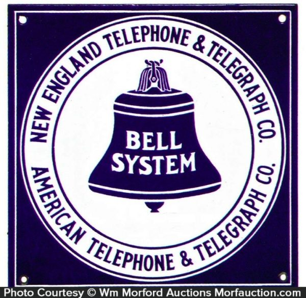 At&T Bell System Sign