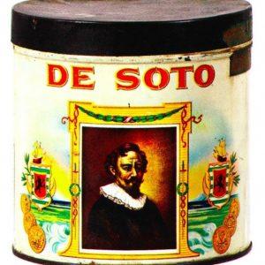 De Soto Cigar Can
