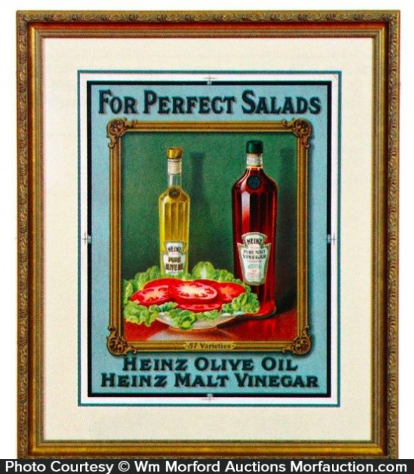 Heinz Salads Products Sign