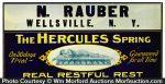 Hercules Bed Springs Sign