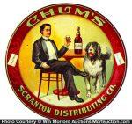 Chum's Whiskey Tip Tray