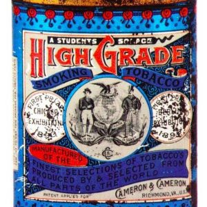 High-Grade Tobacco Tin