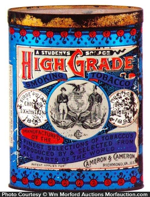 High-Grade Tobacco Tin