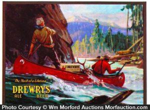 Drewry's Beer Sign