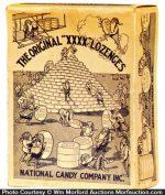 National Candy Xxxx Lozenge Box